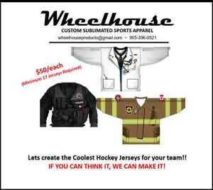 Wheelhouse Sublimated Hockey Jereys