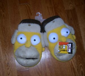 Neuf The Simpson's Homer Simpson slippers chaussons