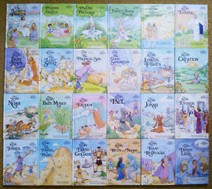 "24 ""ALICE IN BIBLELAND"" Storybooks by Alice Joyce Davidson"