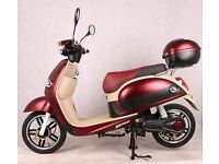 Electric scooter moped 250-500w Retail Price £899 2 Year Warranty