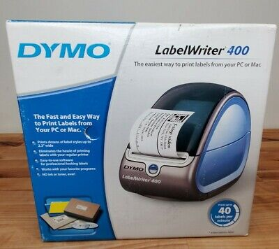 Dymo Labelwriter 400 Pcmac Connected Label Stamp Postage Printer Open Box