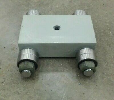 Made In Usa 4000lbs Machine Dolly Skate Machinery Roller Mover Cargo Trolley
