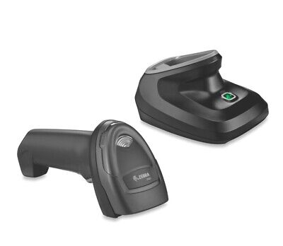 Zebra Ds2278-sr Handheld Cordless 1d2d Omnidirectional Barcode Scanner And A...