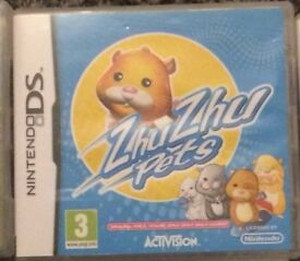 Zhu Zhu Hamsters Nintendo DS Game