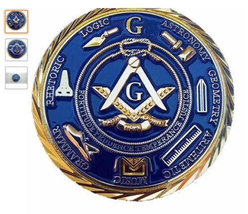 Masonic Freemason pocket  delux coin
