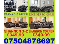 THIS WEEK LEATHER OR FABRIC CORNER OR 3+2 SOFA
