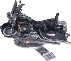 Motorcycle rotation stand
