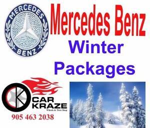 Mercedes Benz Winter Tires Rims Package AT CAR KRAZE 905 463 2038