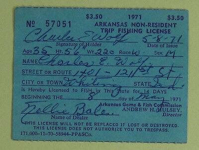 licenses - arkansas fishing