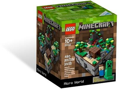 CLEARANCE LEGO CUUSOO Minecraft The Forest #21102 BNIB Rare 2012 Release - Clearance Lego