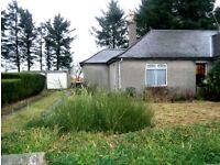 THREE BEDROOMED, UNFURNISHED, SEMI DETACHED BUNGALOW - ELECTRIC HEATING