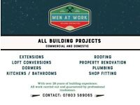 Builder, Joiner and Roofing
