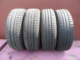 4 Tyres 175/65/14 on wheels @ 4x114.3 stud span