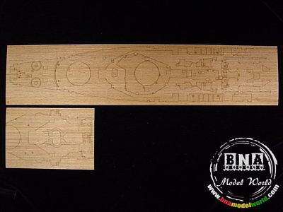 Artwox 1/350 USS Jersey BB-62 Wooden Deck for Tamiya kit 78017 AW10036