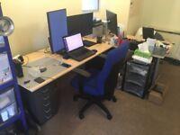 Office chair, original price 220, heavy duty and ergonomic