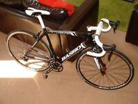 Basso hand built full carbon race bike.