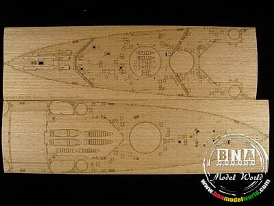Artwox 1/350 HMS King George V Wooden Deck for Tamiya kit 78010