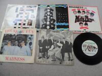 A SMALL NUMBER OF MADNESS SINGLES. NO REASONABLE OFFER REFUSED.
