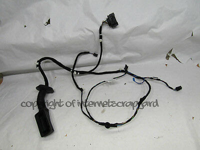 BMW 1 Series F20 2012-2015 LH NSF left front door wiring loom harness