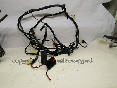 Audi A8 D2 97-02 pre-facelift air con heater unit pack wiring harness loom
