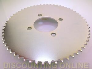 60 TOOTH #35 REAR WHEEL DRIVE SPROCKET FOR MINI BIKE GO KART TRIKE ATV CART