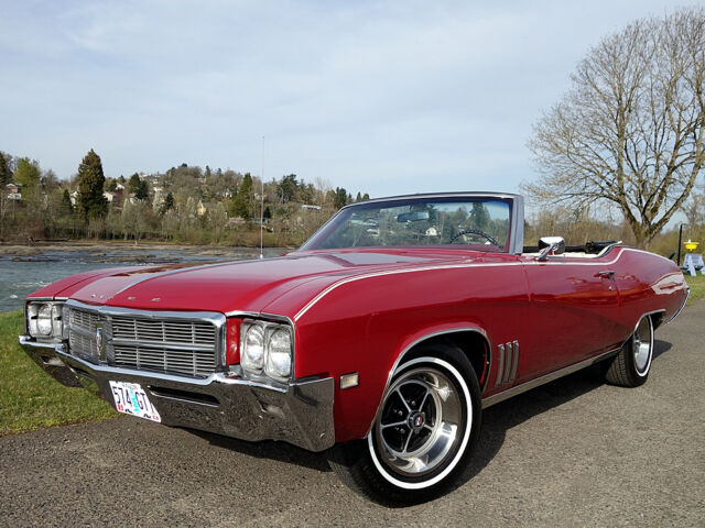 1969 buick skylark convertible 350 v8 w automatic ps pb a c used buick skylark for sale in. Black Bedroom Furniture Sets. Home Design Ideas