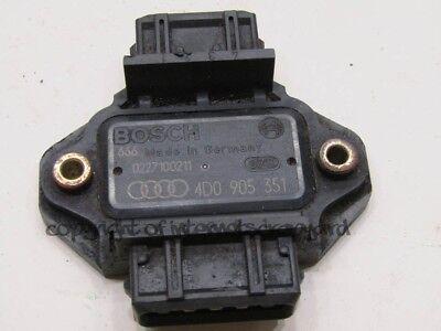 Audi A8 D2 97 02 pre facelift 37 V8 AEW ignition control amp 4D0905351