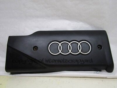 Audi A8 D2 97-02 pre-facelift 3.7 V8 right engine cam cover trim panel 077103724