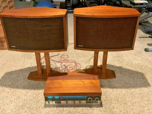 Vintage BOSE 550 AM/FM Stereo Receiver W/ Built-In EQ + 901 Speakers