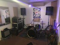 Music Rehearsal Studio Share South East London