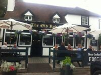Experienced Bar Staff Wanted- The Old Red Lion Staines