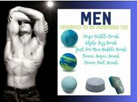 Fathers Day Bundle -Bath Bombs Joop, Alpha, Jean Paul Gaultier, Sugar Foot Scrub