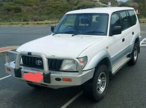 1997 Toyota Prado (4x4) 3.4L V6 Petrol wagon 5sp Manual