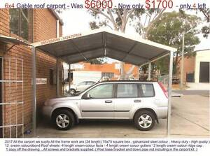 New   gable carport  4 x 6  $1700 or 4 x 9  $ 2500 Ingleburn Campbelltown Area Preview