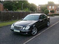 *BEAUTIFUL* 2003 Reg Mercedes E220 CDi Avantgarde 6 Speed Manual (not e320,e350,s320,auto,audi)