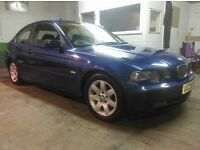 2003 bmw 316ti compact..only 80,000 miles..long mot..service history