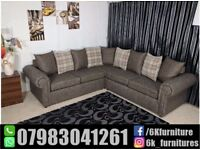 **25% off**NEW CHESTERFEILD GLP FABRIC 3+2 seater sofa Luxury