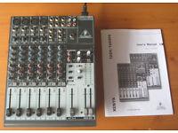 12-input mixing desk - Behringer Xenyx 1204