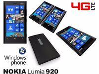 Black Nokia Lumia 920 Smart Phone