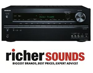 ONKYO TX-NR626 7.2 Channel Wi-Fi Network DLNA Black 4K Home Cinema AV Receiver