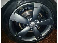 Rotor alloys with tyres