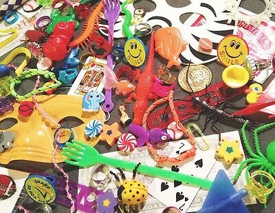 100 piece small toys GrAb BaG assortment Kids Trinket Carnival Prize Party Gift!