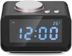 K1 Alarm Clock Radio with Dual USB Charger New In Box.