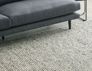 The Rug Collection Magic Ice Colour 200 X 290cm Wool Brand New