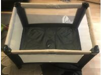Mamas and Papas Travel Cot Excellent Condition with Mattress