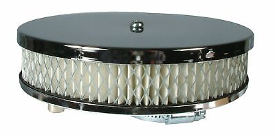 Chrome pancake air filter suitable for VW Beetle and Type 2 up to 1600cc