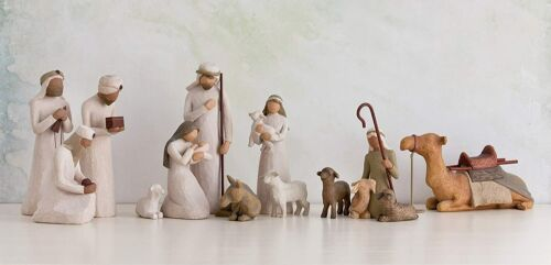 DEMDACO Willow Tree Nativity Sets, MERRY CHRISTMAS- SALE