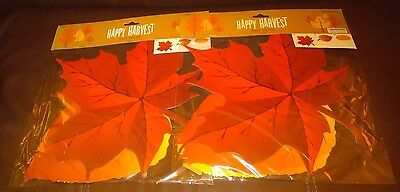 - Fall Leaves Cut Outs Decorations - Set of 2 Packs