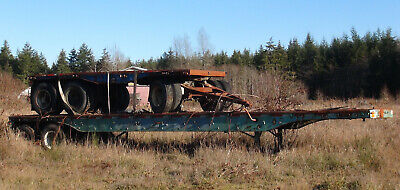 Brown Industries Flatbed Semi Trailer And Pup New Lower Price