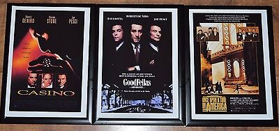 Casino, Goodfellas,Once upon a Time in America framed Collection